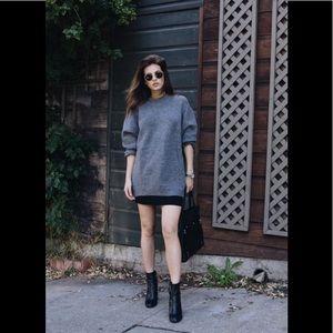 American apparel mini black skirt s